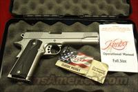 KIMBER STAINLESS TARGET II 10MM NEW