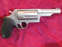 "TAURUS 3""MAGNUM 410G REVOLVER "" THE JUDGE "" 4"" MATTE STAINLESS USED"