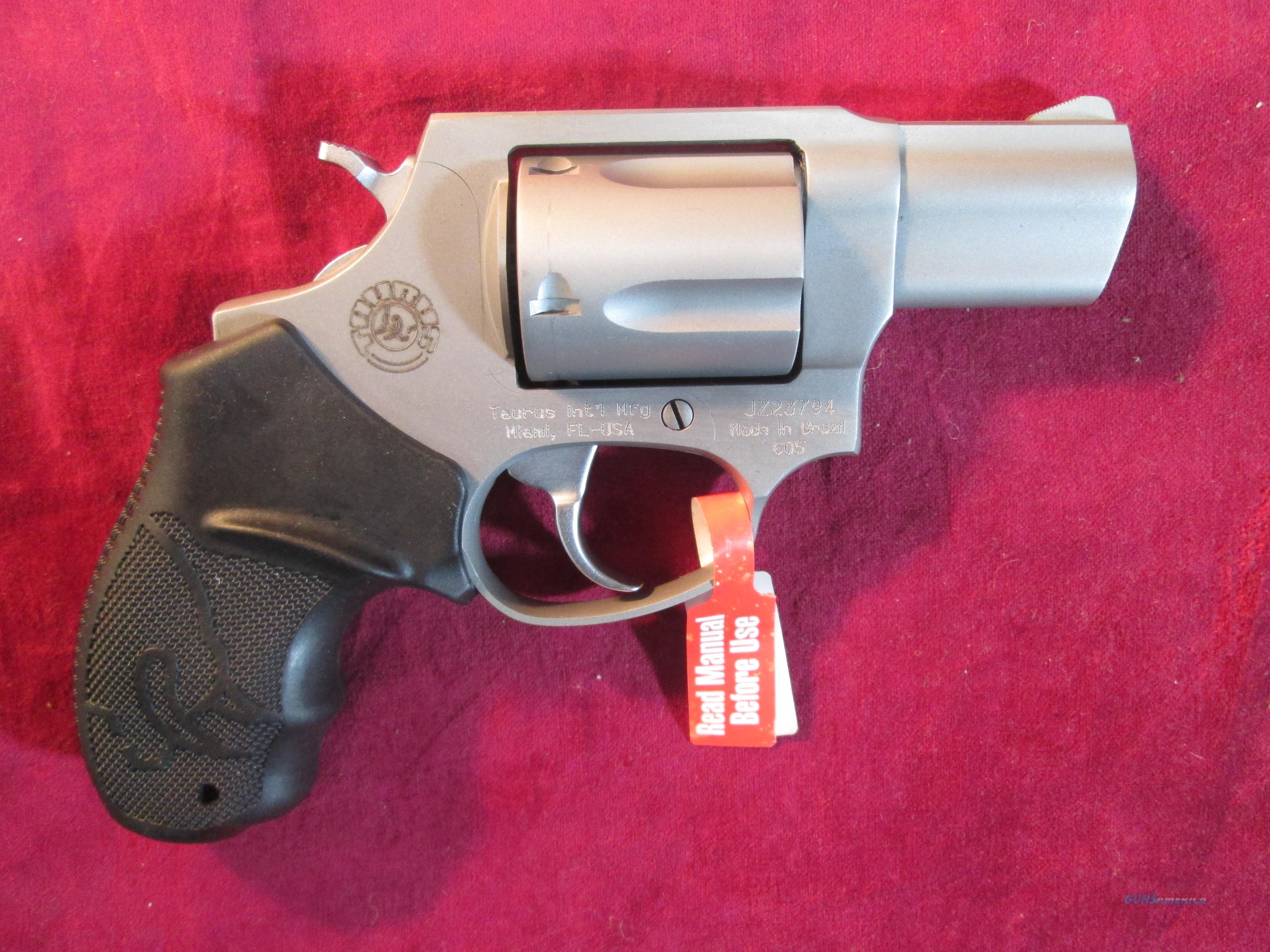 Taurus 605 357 Magnum Revolver 2 Ss