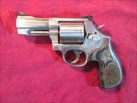 "SMITH AND WESSON MODEL 686 DELUXE 3"" 357MAG STAINLESS LNIB USED"