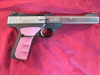 "BROWNING BUCKMARK PLUS UFX, FUSCHIA GRIP AND 5.5"" STAINLESS SLAB SIDE BARREL NEW"