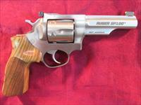 "RUGER GP100 MATCH CHAMPION 357MAG STAINLESS 4.2"" HARDWOOD GRIP AND ADJUSTABLE SIGHTS NEW ( KGP141MCF)"