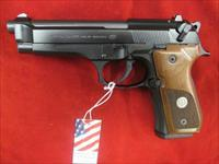 BERETTA 92FS TRIDENT 9MM W/ WOOD GRIPS NEW