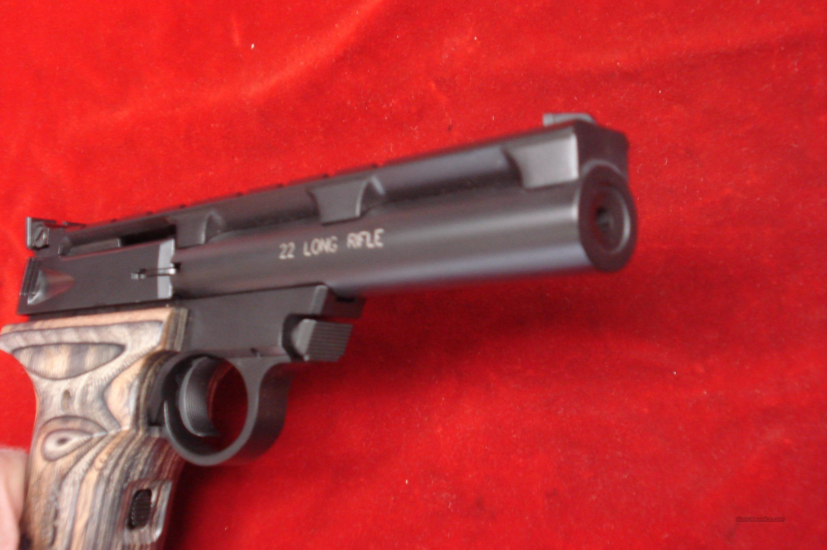SMITH AND WESSON 22A 22LR 55 BULL BARREL NE For Sale