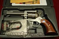 "RUGER  BLACKHAWK 357MAG 4 5/8"" STAINLESS NEW (KBN-34)"