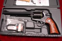 "RUGER BISLEY SUPER BLACKHAWK  7.5"" BLUED 44MAG  NEW (RB-44W)"