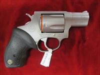 "TAURUS STAINLESS MODEL 905 9MM 5 SHOT 2"" SNUB NOSE REVOLVER NEW"