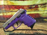 "SCCY 9MM CPX-1 Purple & Stainless 3.1"" New (CPX1TTPU)"