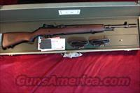 SPRINGFIELD M1A 308 CAL CAMP PERRY COMMEMORATIVE W/ CANVAS DISPLAY CASE NEW