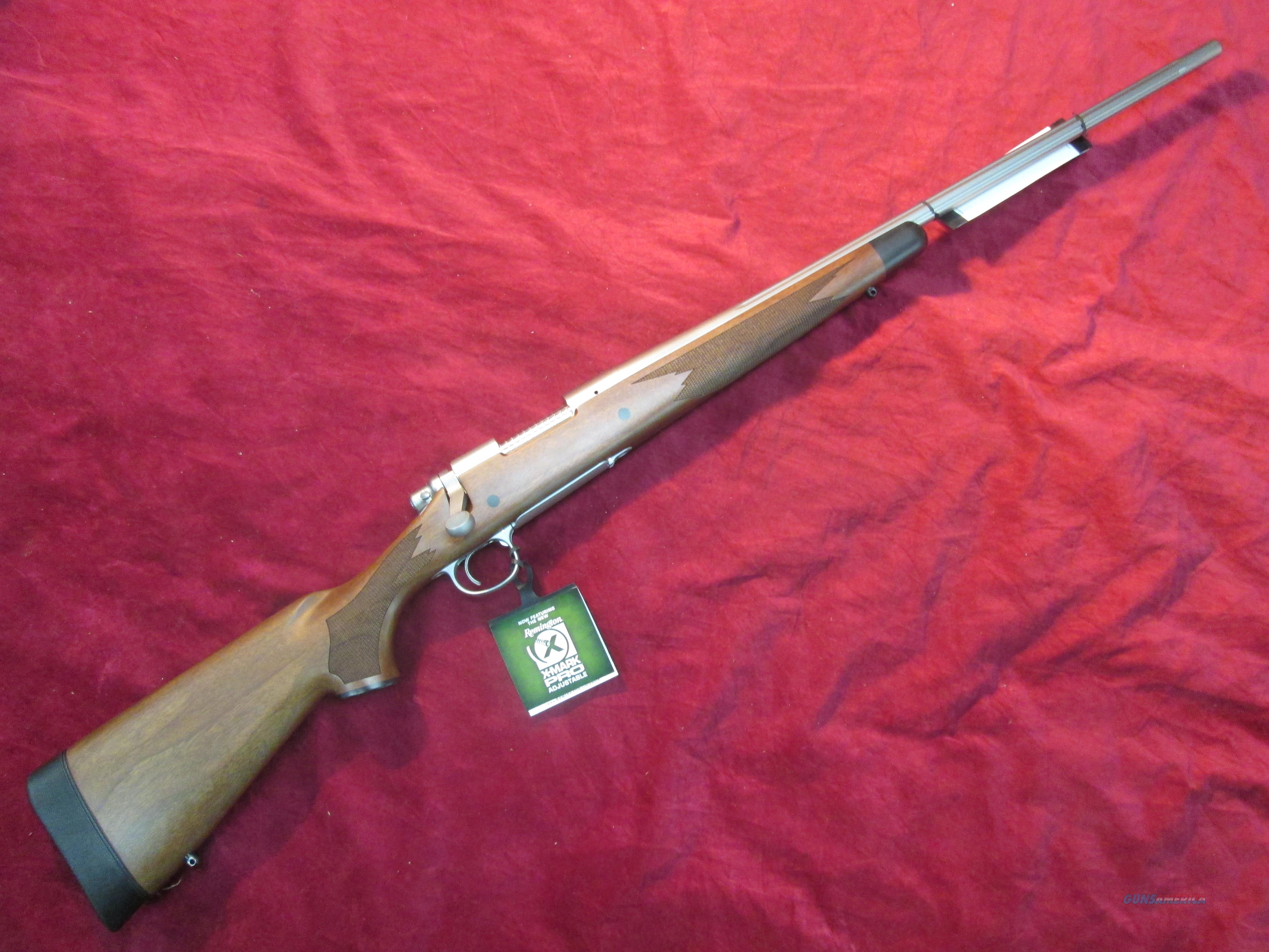 Remington 700 Cdl 300 Wsm 24 Stainless And Wal For Sale
