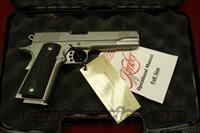 KIMBER STAINLESS TARGET II 45ACP NEW  (3200008)