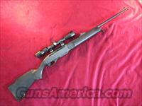 REMINGTON MODEL 7400 SYNTHETIC W/SCOPE 270CAL USED