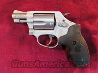 SMITH AND WESSON MODEL 637 STAINLESS AIRWEIGHT 38+P W/ CRIMSON TRACE LASER NEW