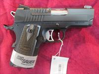 SIG SAUER 1911 ULTRA COMPACT 45CAL. WITH NIGHT SIGHTS NEW