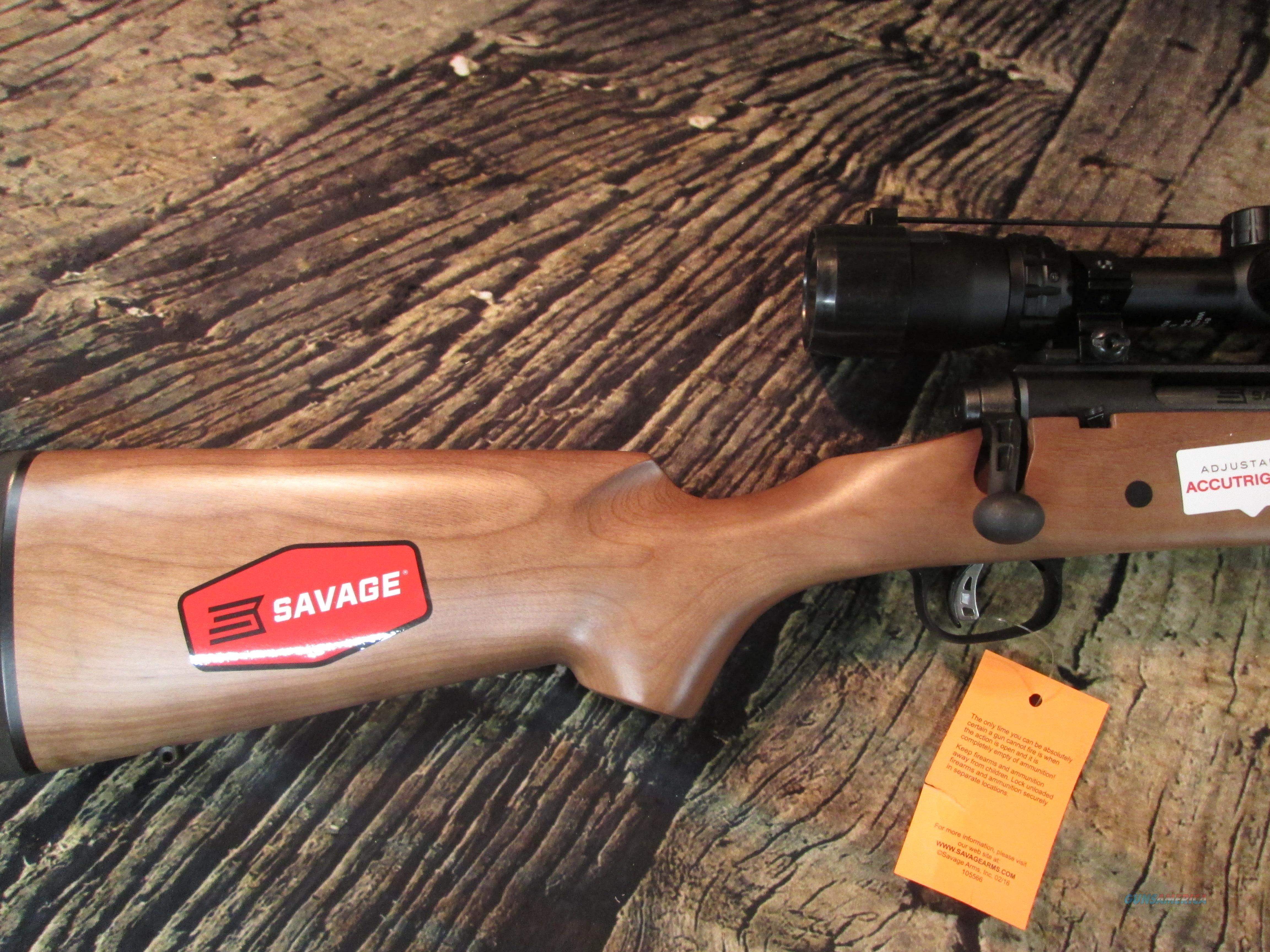SAVAGE ARMS AXIS II XP WOOD WITH SCOPE 6 5 CREEDMOOR (22678)
