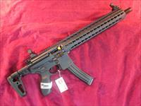 "SIG SAUER MPX CARBINE 9MM 16"" W/ SLIDING STOCK NEW   (MPX-C-9-KM-T)"