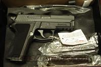 SIG SAUER P229 9MM WITH NIGHT SIGHTS AND 3 HIGH CAPACITY MAGAZINES NEW