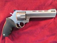 "TAURUS RAGING BULL MODEL 444CP STAINLESS PORTED 6.5"" 44MAG. NEW"