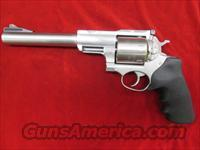 "RUGER SUPER REDHAWK HUNTER 7.5"" STAINLESS 454CASULL WITH RINGS NEW IN THE BOX (KSRH-7454)"