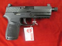 "SIG SAUER P320 COMPACT 3.9"" 9MM STRIKER FIRED PISTOL W/ THREADED BARREL AND NIGHT SIGHTS NEW   (320C-9-BSS-TB)"