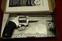 "TAURUS TRACKER MODEL 627CP 357MAG. STAINLESS PORTED 6"" NEW"