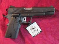 SPRINGFIELD ARMORY 1911 45ACP LOADED PARKERIZED W/ CRIMSON TRACE LASER GRIPS NEW (PI9109LPCT)