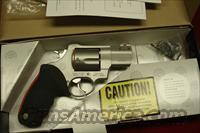 "TAURUS RAGING BULL MODEL 454CP STAINLESS PORTED 2.25"" 454CASULL NEW"