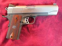 RUGER SR1911 LIGHTWEIGHT COMMANDER STAINLESS 45ACP W/ ALLOY FRAME NEW    (06711)