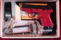 RUGER LC9 9MM CAL RASPBERRY NEW