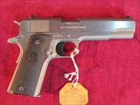 COLT GOVERNMENT MODEL 1911 9MM CAL STAINLESS STEEL