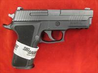 SIG SAUER P229 ELITE 9MM W/ NIGHT SIGHTS UNFIRED USED