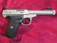 SMITH AND WESSON VICTORY 22LR SEMI AUTO PISTOL W/ THREADED BARREL NEW  (10201)