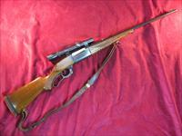 SAVAGE MODEL 99, 300 SAVAGE CAL W/ WEAVER SCOPE USED