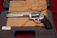 "SMITH AND WESSON MODEL 500 STAINLESS 500S&W CAL. 8 3/8""  NEW"