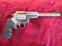 "RUGER SUPER REDHAWK 7.5"" 480 RUGER STAINLESS WITH RINGS NEW"