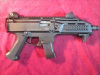 "CZ USA SCORPION EVO 3 S1 9MM 7.7"" W/ 20 ROUND MAGS USED (91351)"