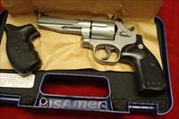 SMITH AND WESSON MODEL 686SSR PRO SERIES 357MAG STAINLESS NEW