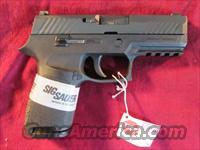 SIG SAUER P320 COMPACT 9MM STRIKER FIRED PISTOL W/ NIGHT SIGHTS NEW   (320C-9-BSS)