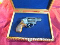 SMITH AND WESSON 442 ENGRAVED 38 SPECIAL+P NEW
