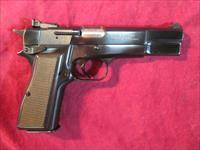 BROWNING HI-POWER 9MM W/ ADJUSTABLE SIGHTS USED