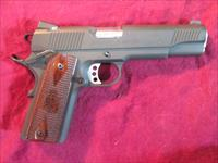 SPRINGFIELD ARMORY PARKERIZED 1911 A1 LOADED NIGHT SIGHTS 45ACP USED