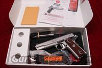 RUGER SR1911 STAINLESS 45ACP NEW