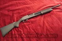 "REMINGTON 870 HD (HOME DEFENSE)12G PUMP ACTION SHOTGUN WITH A 18"" BARREL, 3"" CHAMBER, CYLINDER BORE,  BEAD FRONT SIGHT, SYNTHETIC STOCK AND FOREARM, MATTE BLACK ON ALL METAL NEW"