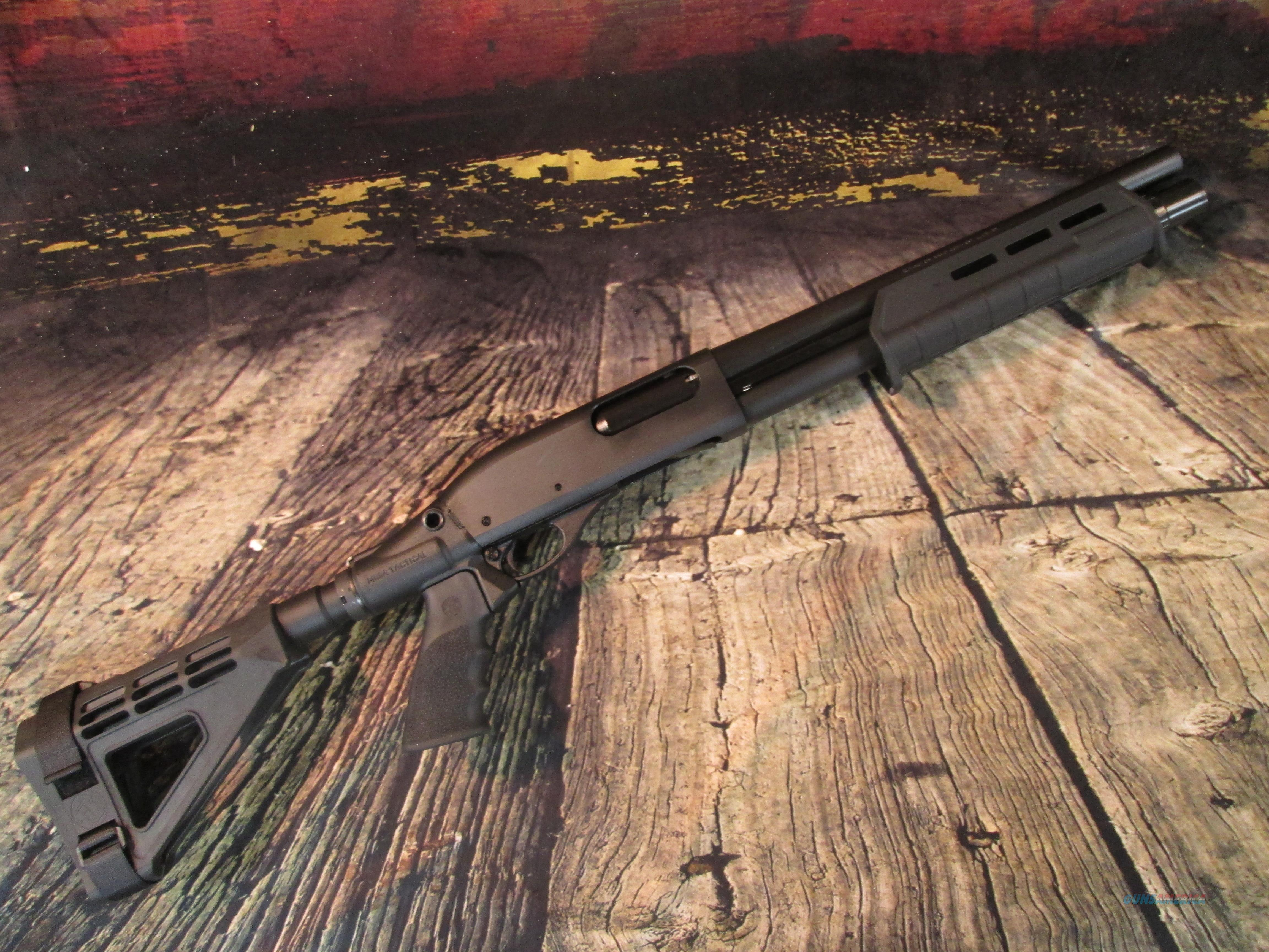 REMINGTON 870 TAC-14 WITH PISTOL GRIP AND ARM BRACE NEW (81240)