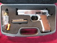"EAA WITNESS ""STOCK"" PISTOL STAINLESS 45 ACP USED"