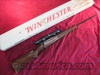 WINCHESTER MODEL 70  FEATHERWEIGHT 257 ROBERTS W/SCOPE USED