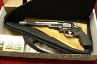 "SMITH AND WESSON PERFORMANCE CENTER MODEL 629  HUNTER 44 MAGNUM 7.5"" BARREL W/MUZZLE BREAK TWO TONE STAINLESS NEW (170318)"