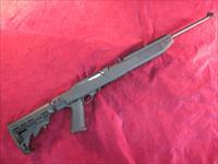 RUGER 10/22 W/ TAPCO TACTICAL STOCK 22LR USED