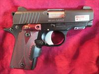 KIMBER MICRO CARRY 380 CAL W/ ROSEWOOD CRIMSON TRACE GRIPS NEW