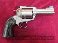 "RUGER BISLEY SUPER BLACKHAWK 44MAG 3.75"" STAINLESS NEW (KRBS-43N)"
